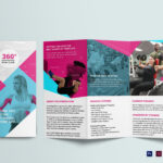 Gym Tri Fold Brochure Template In Membership Brochure Template