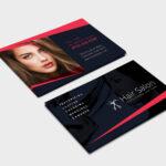 Hair Salon Business Card Template In Psd, Ai & Vector Regarding Hair Salon Business Card Template