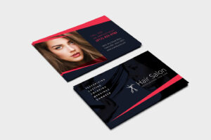 Hair Salon Business Card Template In Psd, Ai & Vector regarding Hair Salon Business Card Template