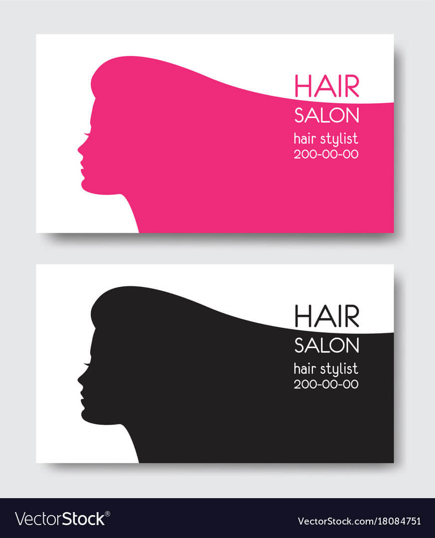 Hair Salon Business Card Templates With Beautiful Pertaining To Hair Salon Business Card Template