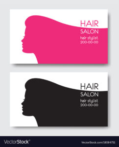 Hair Salon Business Card Templates With Beautiful Pertaining To Hairdresser Business Card Templates Free