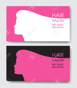 Hair Salon Business Card Templates. with Hair Salon Business Card Template