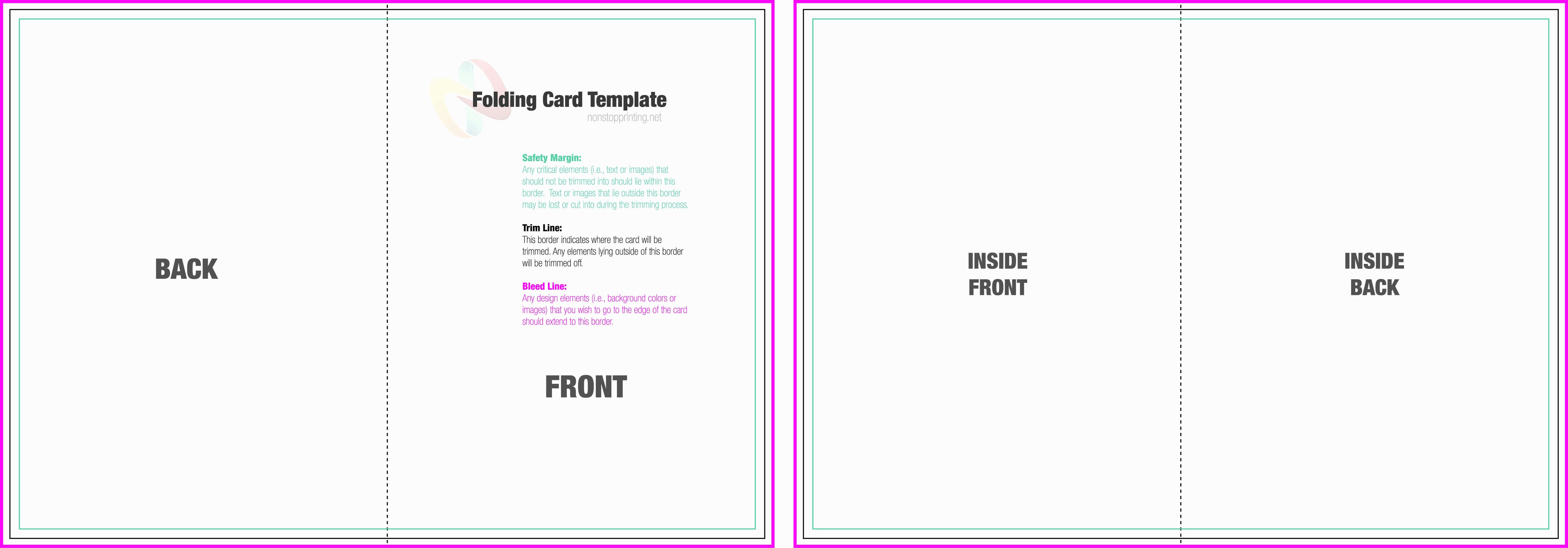 Half Fold Greeting Card Template 7 Things You Most Likely In Half Fold Card Template