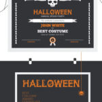 Halloween Best Costume Award Certificate Template | Retail regarding Halloween Certificate Template