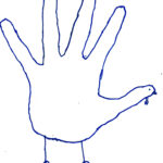 Hand Turkey Drawing Template At Paintingvalley   Explore Intended For Blank Turkey Template