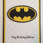 Handmade Batman Birthday Card For Batman Birthday Card Template