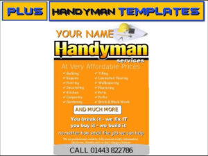 Handyman Business Cards Templates Free Best Template Mr for Plastering Business Cards Templates