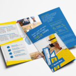 Handyman Tri Fold Brochure Template In Psd, Ai & Vector Regarding Commercial Cleaning Brochure Templates