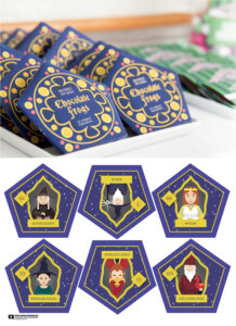 Harry Potter Chocolate Frogs – Free Printable Template For inside Chocolate Frog Card Template