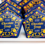 Harry Potter Chocolate Frogs – Free Printable Template For With Regard To Chocolate Frog Card Template