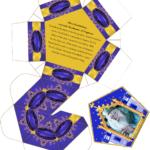 Harry Potter Paraphernalia: Chocolate Frogs Box Template Within Chocolate Frog Card Template