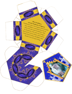 Harry Potter Paraphernalia: Chocolate Frogs Box Template within Chocolate Frog Card Template