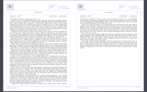 Header Footer – Reproduction Of Word Report Template In With Regard To Latex Template For Report