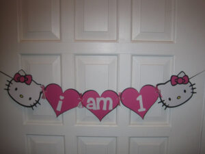 Hello Kitty Banner. $12.00, Via Etsy. | Events | X Jsl's intended for Hello Kitty Banner Template