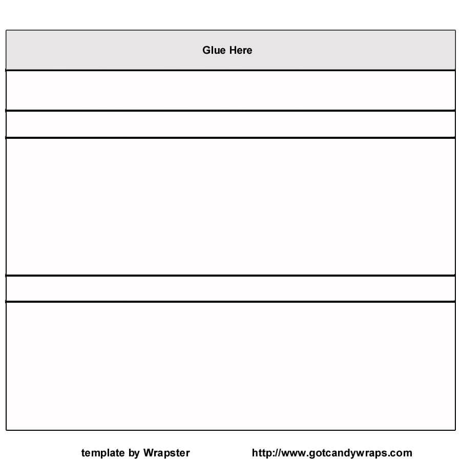 Hershey+Bar+Wrapper+Template+Free | Free Printable | Candy Within Blank Candy Bar Wrapper Template For Word