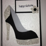 High Heel Template For Cards