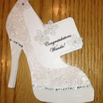 High Heel Shoe Card – Bridal Shower Tanya Bell's High With High Heel Shoe Template For Card