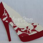 High Heel Shoe Card | Shoe Decor | Paper Shoes, Shoe With Regard To High Heel Shoe Template For Card