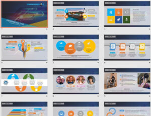 High Tech Powerpoint Template #44163 – Sagefox Free intended for High Tech Powerpoint Template