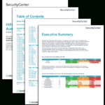 Hipaa Configuration Audit Summary – Sc Report Template Intended For Security Audit Report Template