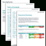 Hipaa Configuration Audit Summary – Sc Report Template Regarding Threat Assessment Report Template