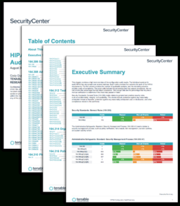 Hipaa Configuration Audit Summary – Sc Report Template Regarding Threat Assessment Report Template