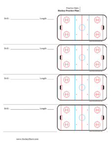 Hockey Share Practice Plan – Fill Online, Printable With Regard To Blank Hockey Practice Plan Template