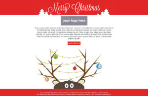 Holiday Email Template | Template Business regarding Holiday Card Email Template