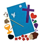 Holy Communion Banner Craft Kit | Diy | First Communion For First Holy Communion Banner Templates
