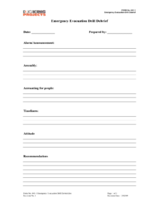 Hospital Debriefing Form Template Inside Debriefing Report Template