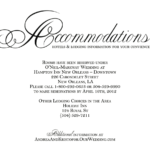 Hotel Accommodation Cards – Google Search   Wedding With Wedding Hotel Information Card Template