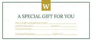 Hotel Gift Certificate Template intended for Gift Certificate Template Publisher