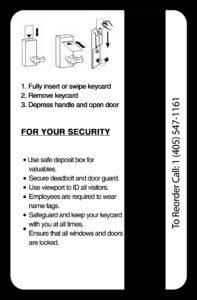 Hotel Key Card Printing | Hotel Keys | Custom Hotel Key Cards in Hotel Key Card Template