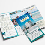 Hotel Tri Fold Brochure Template – Psd, Ai & Vector – Brandpacks Within Hotel Brochure Design Templates