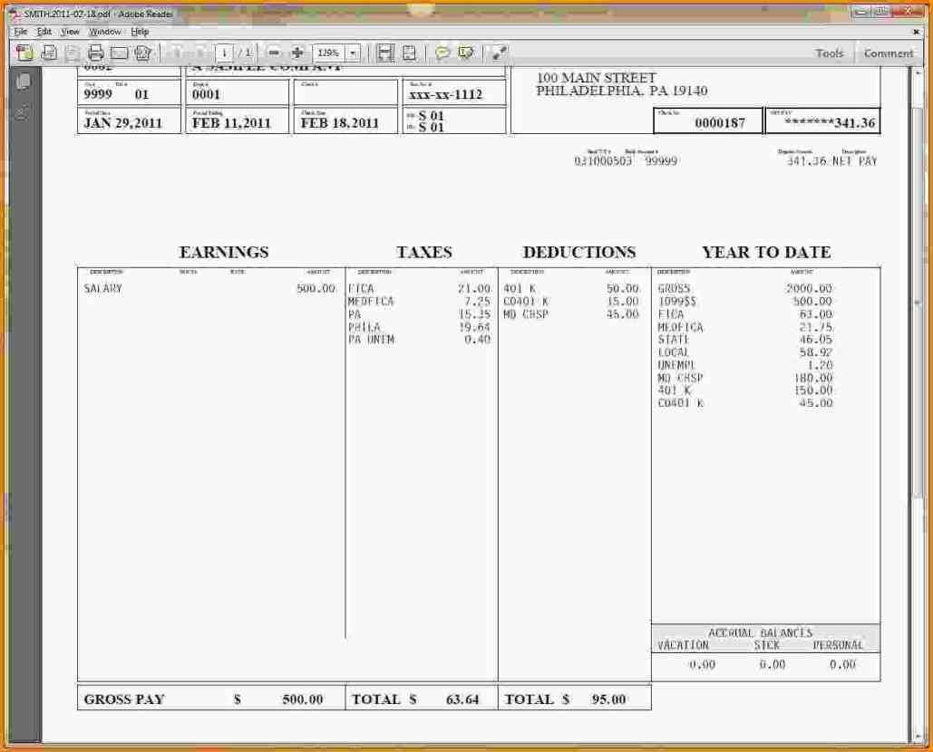 Hourly Wage Then Log Download Pay Stub Template Word Free Regarding Free Pay Stub Template Word