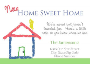 Housewarming Invitations Cards Free | Invitations Card in Moving House Cards Template Free