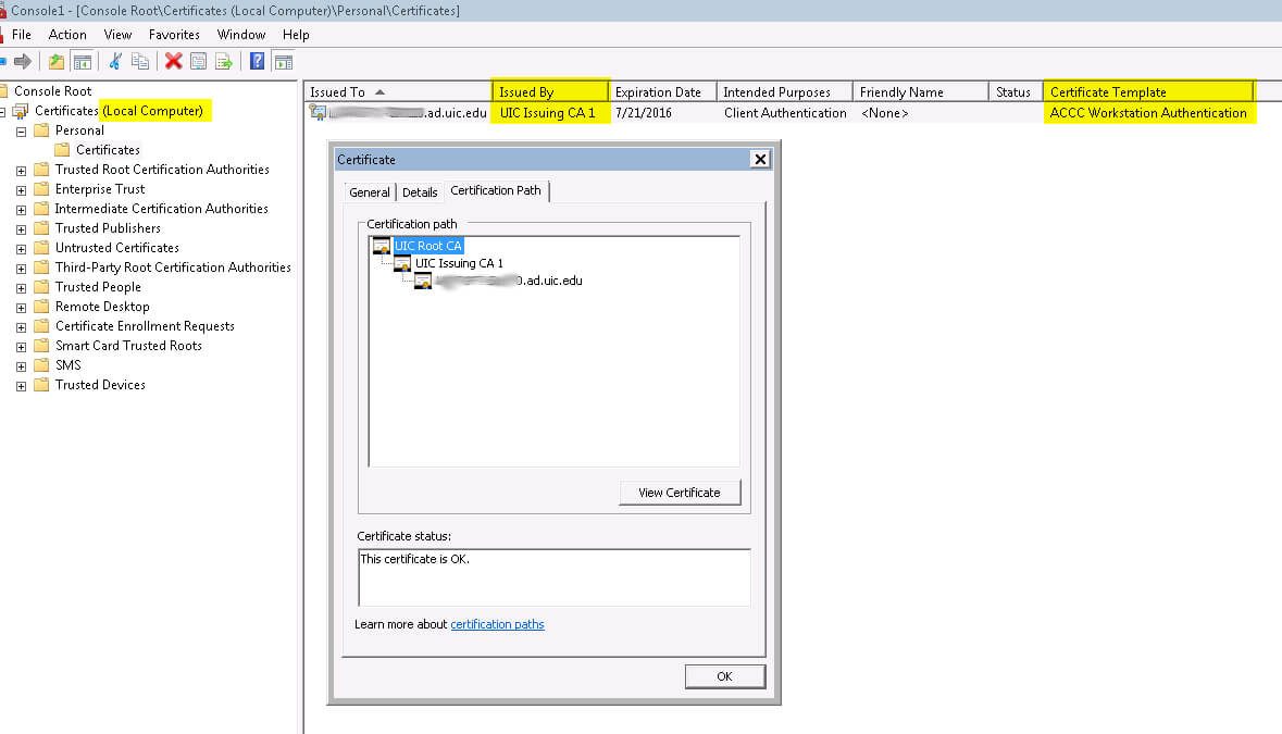 How Do I Provision My Sccm Client With Workstation Inside Workstation Authentication Certificate Template