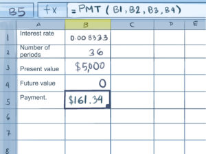 How To Calculate Credit Card Payments In Excel: 10 Steps in Credit Card Interest Calculator Excel Template