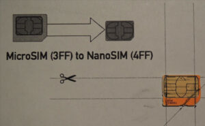How To Convert A Micro Sim Card To Fit The Nano Slot On Your with regard to Sim Card Cutter Template
