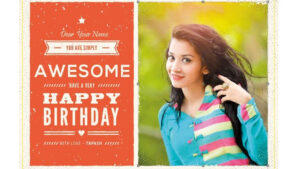 How To Create A Birthday Card In Photoshop intended for Photoshop Birthday Card Template Free