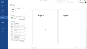 How To Create A Booklet In Microsoft Word within How To Create A Book Template In Word