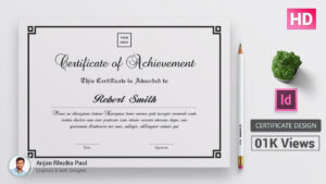 How To Create A Certificate Template In Indesign : ✪ Indesign Tutorial ✪ with regard to Indesign Certificate Template