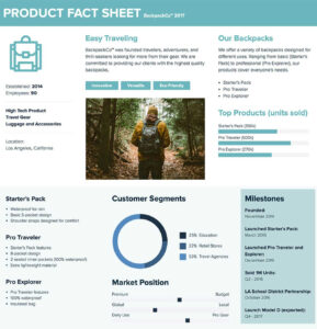 How To Create A Fact Sheet : A Stepstep Guide | Xtensio 2019 With Fact Card Template