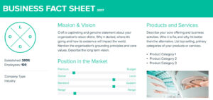 How To Create A Fact Sheet : A Stepstep Guide | Xtensio 2019 With Regard To Fact Card Template
