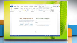 How To Create A Template Based On Microsoft® Word 2013 Document in How To Create A Template In Word 2013