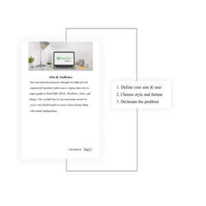 How To Create A User Instruction Manual | Stepshot inside Instruction Sheet Template Word