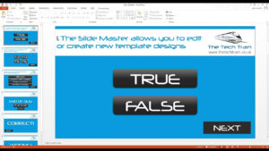 How To Create An Interactive Quiz In Powerpoint with regard to Trivia Powerpoint Template
