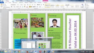 How To Create Brochure Using Microsoft Word Within Few Minutes Regarding Brochure Template On Microsoft Word