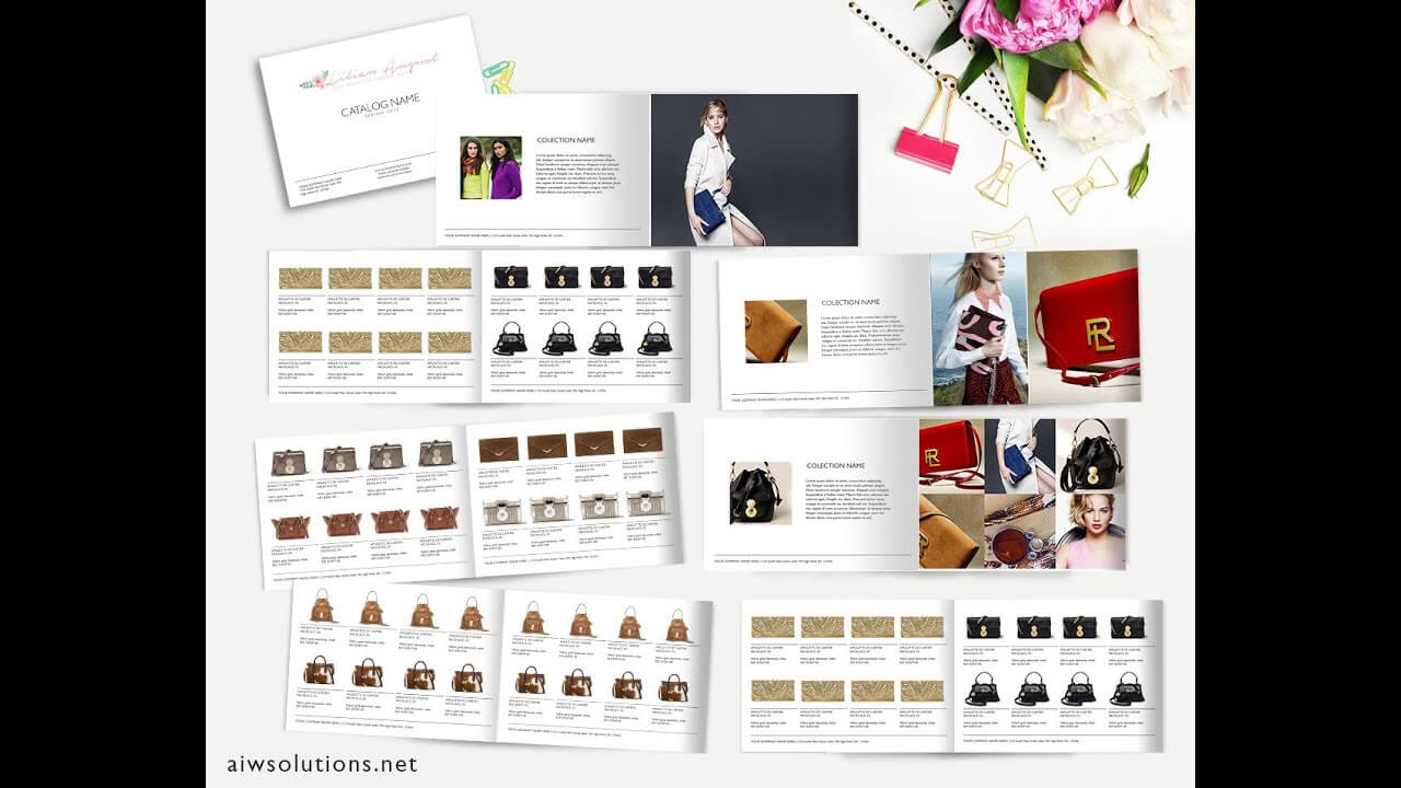 How To Create Catalog In Ms Word  Template Id02 Pertaining To Word Catalogue Template