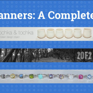 How To Create Cool Etsy Shop Banners – The Complete Guide with regard to Free Etsy Banner Template